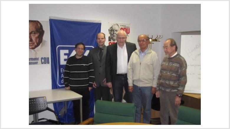 Diskussionsveranstaltung des EAK Bonn über Martin Luther