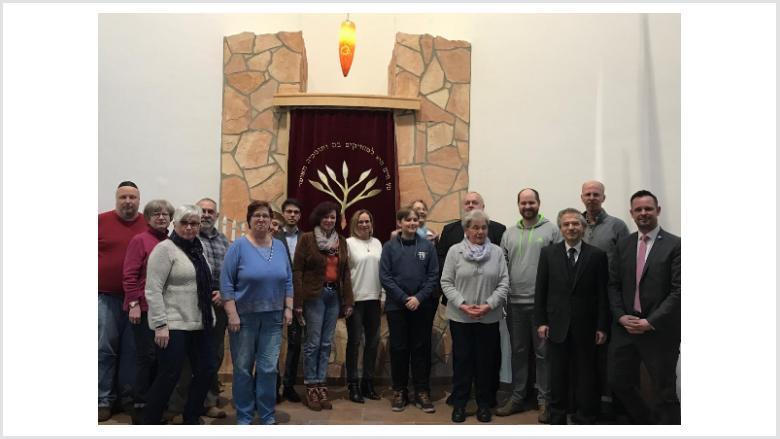 Evangelische Christdemokraten besuchen jüdische Gemeinde in Duisburg