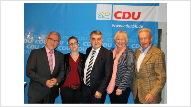 Innenminister Reul zu Gast beim EAK im Rheinisch-Bergischen Kreis