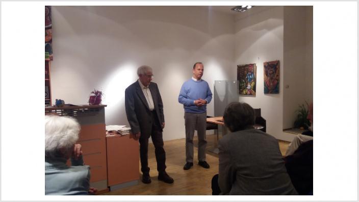 Kreisverband Mülheim an der Ruhr: Gerhard Bennertz beindruckte mit Vortrag zum Nahen Osten