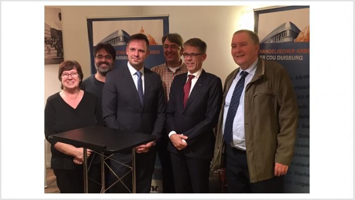 EAK Duisburg diskutiert über die Zukunft des Religionsunterrichts